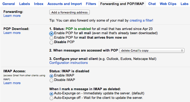 FastMail Redirects