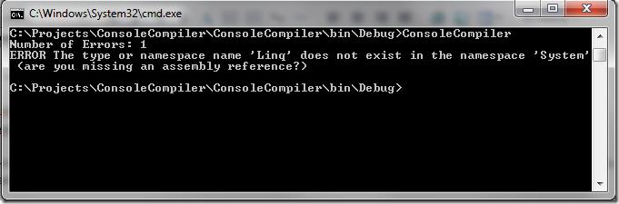 Compiler Error